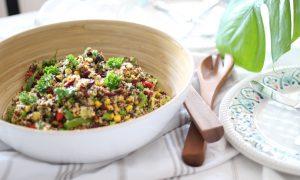 Goji Beeren – Quinoa Salat