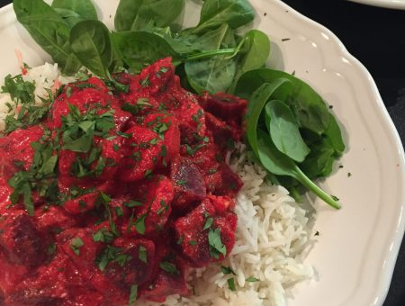 Rote-Beete Curry