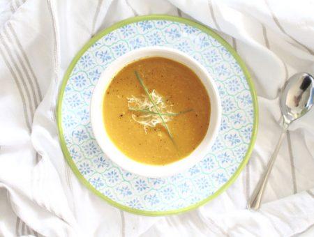 Süßkartoffel-Kren Suppe