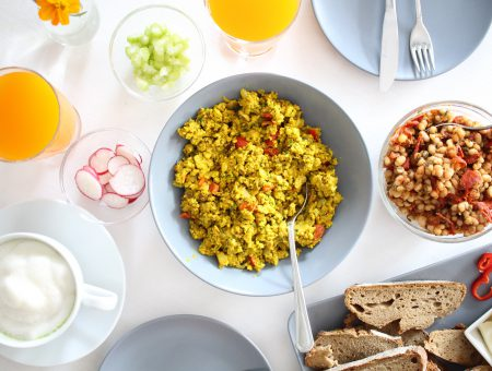 Scrambled Tofu – eine Eierspeis-Alternative?