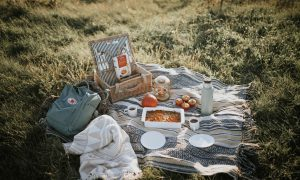 Kürbis-Porridge Auflauf